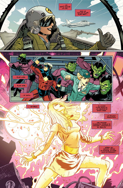 Page 6 Captain Marvel - Dark origins