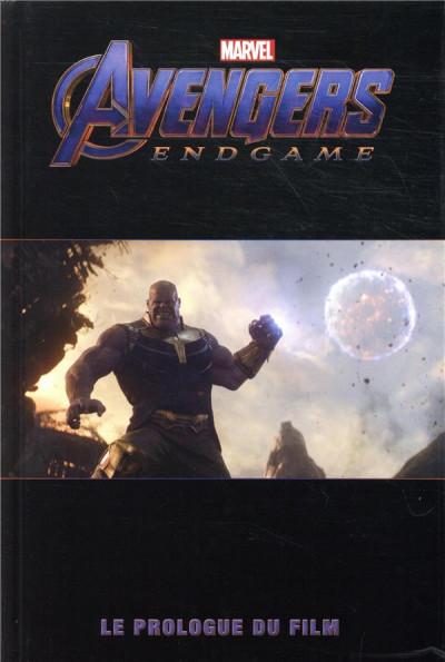 Couverture Avengers 4 - Le prologue du film