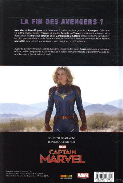 Dos Avengers 4 - Le prologue du film