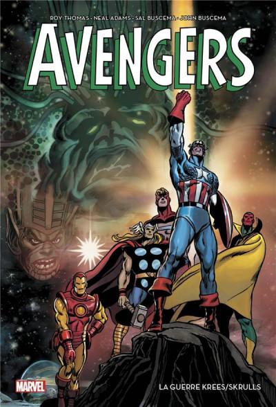Couverture Avengers - La guerre Krees/Skrulls