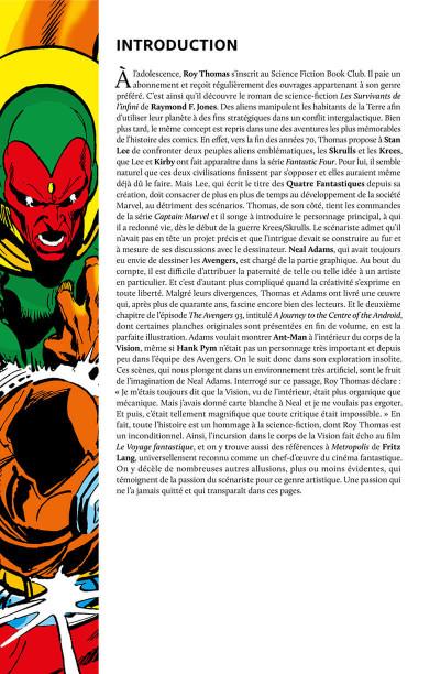 Page 4 Avengers - La guerre Krees/Skrulls