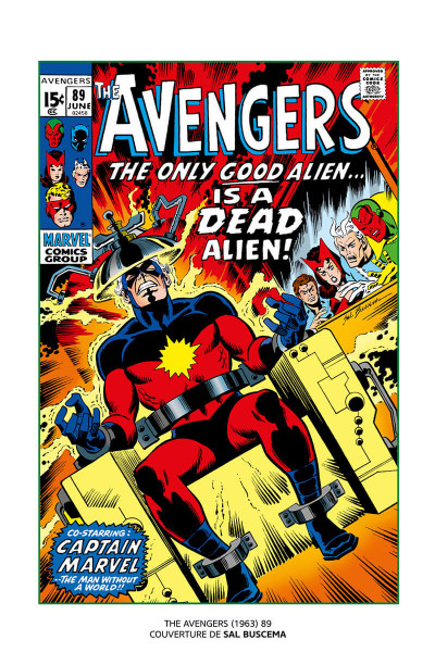 Page 5 Avengers - La guerre Krees/Skrulls