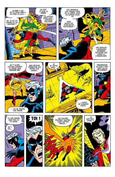 Page 8 Avengers - La guerre Krees/Skrulls