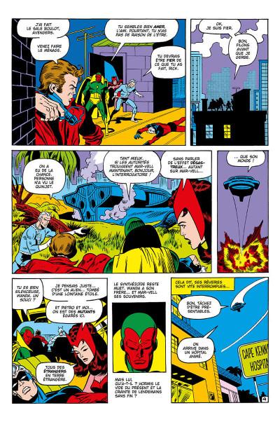Page 9 Avengers - La guerre Krees/Skrulls