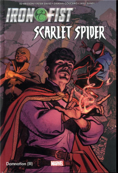 Couverture Damnation - Iron Fist & Scarlet Spider