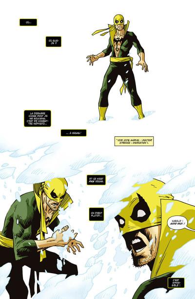 Page 5 Damnation - Iron Fist & Scarlet Spider