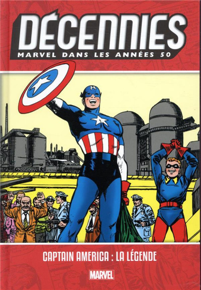 Couverture Décennies - Marvel dans les années 50 - Captain America