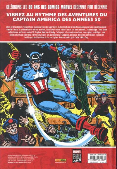 Dos Décennies - Marvel dans les années 50 - Captain America