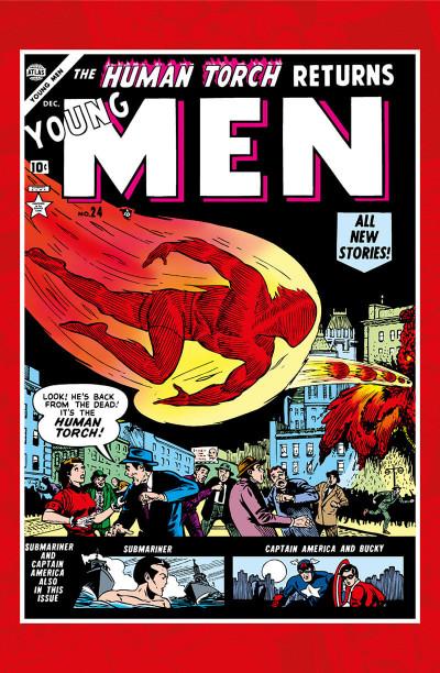 Page 4 Décennies - Marvel dans les années 50 - Captain America
