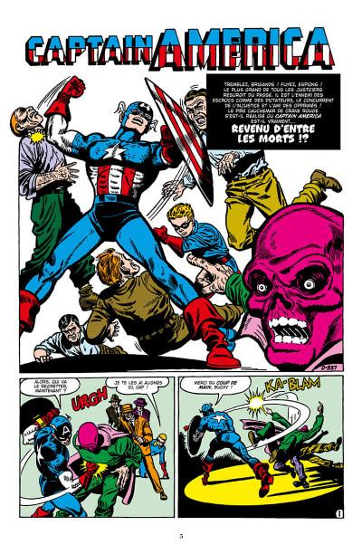 Page 5 Décennies - Marvel dans les années 50 - Captain America