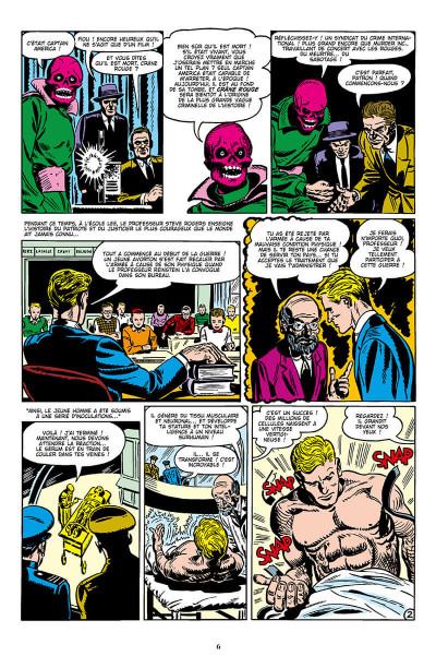Page 6 Décennies - Marvel dans les années 50 - Captain America