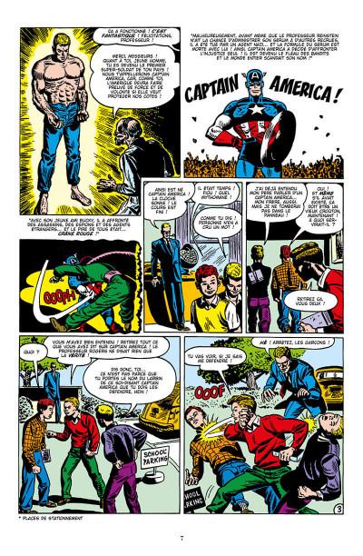 Page 7 Décennies - Marvel dans les années 50 - Captain America