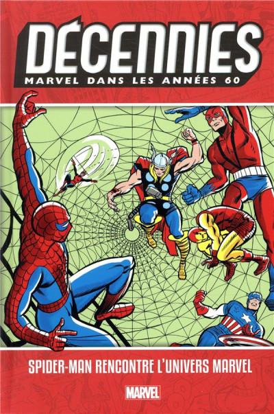 Couverture Décennies - Marvel dans les années 60 - Spider-Man