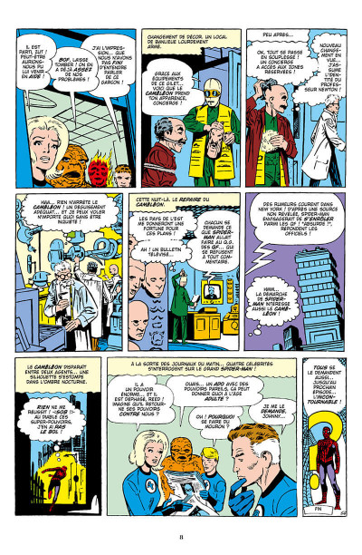 Page 8 Décennies - Marvel dans les années 60 - Spider-Man