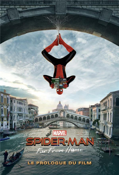Couverture Spider-man - Far from home - Le prologue du film