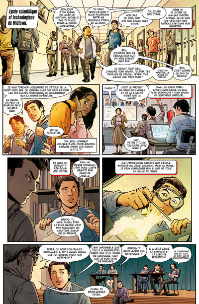 Page 6 Spider-man - Far from home - Le prologue du film