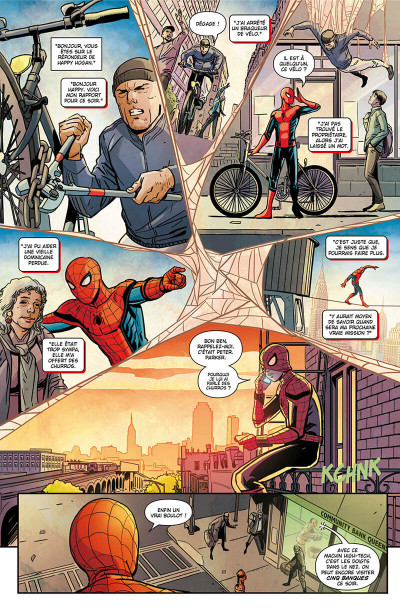 Page 8 Spider-man - Far from home - Le prologue du film