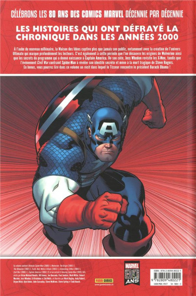 Dos Décennies - Marvel dans les années 2000 - La une des journaux