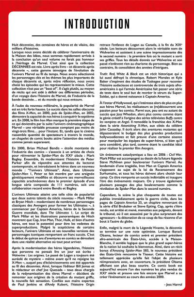 Page 3 Décennies - Marvel dans les années 2000 - La une des journaux