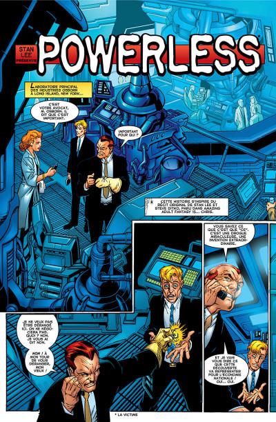 Page 6 Décennies - Marvel dans les années 2000 - La une des journaux