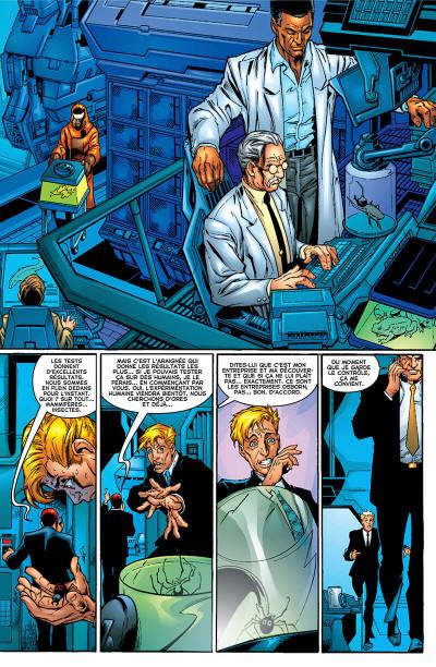 Page 7 Décennies - Marvel dans les années 2000 - La une des journaux