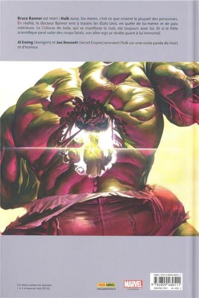Dos Immortal Hulk tome 1
