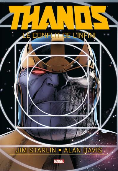 Couverture Thanos - Le conflit de l'infini