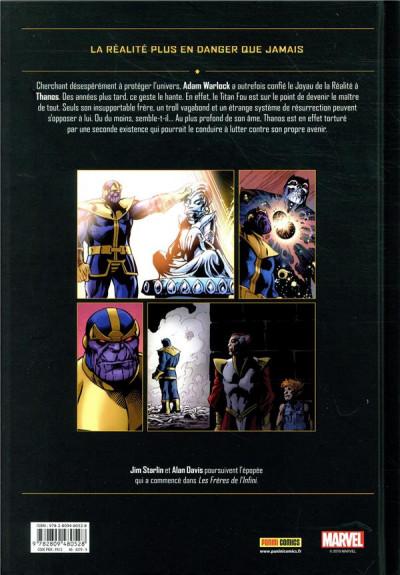 Dos Thanos - Le conflit de l'infini