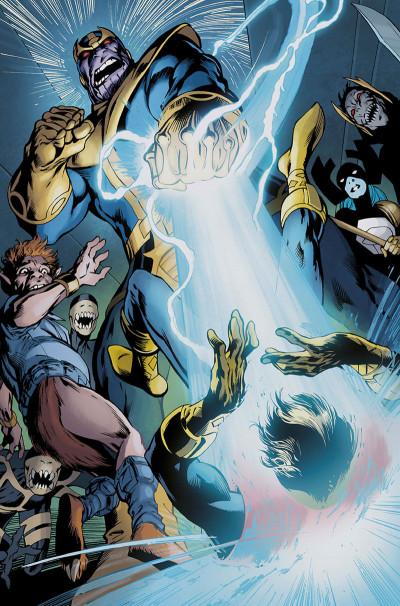 Page 2 Thanos - Le conflit de l'infini