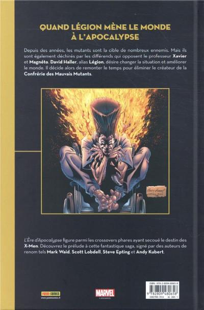 Dos X-Men - Prélude à l'ère d'apocalypse
