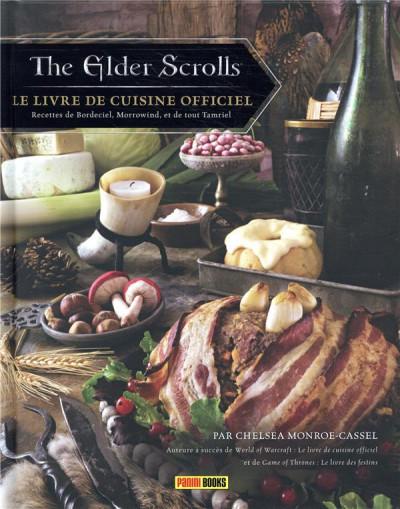 Couverture The elder scrolls - Le livre de cuisine officiel