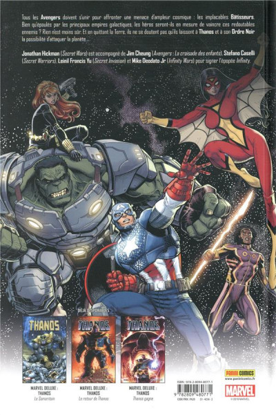 Dos Infinity - marvel deluxe tome 1