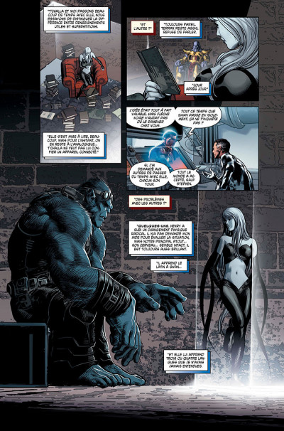 Page 8 Infinity - marvel deluxe tome 1
