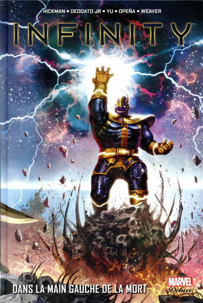Couverture Infinity - marvel deluxe tome 2