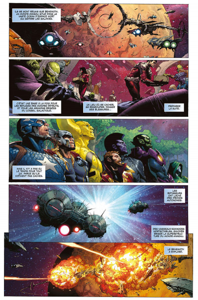 Page 7 Infinity - marvel deluxe tome 2