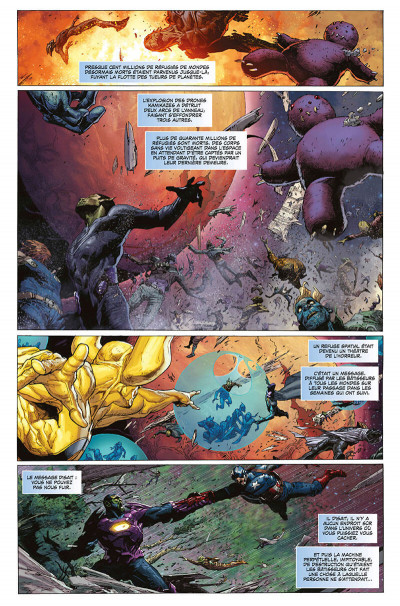 Page 8 Infinity - marvel deluxe tome 2