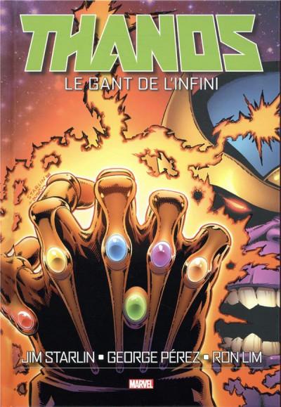 Couverture Thanos - Le gant de l'infini