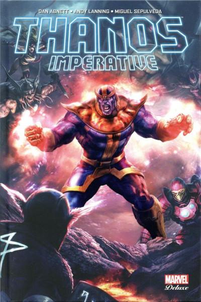 Couverture Thanos imperative (édition 2019)