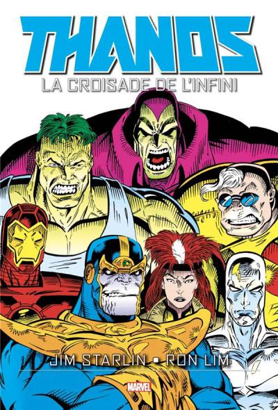 Couverture Thanos - La croisade de l'infini
