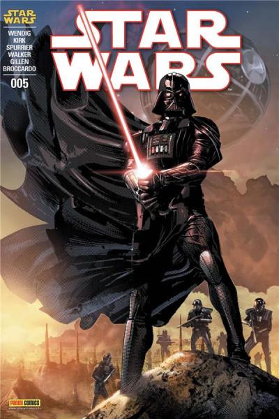 Couverture Star wars - fascicule série 3 tome 5 (couverture 1/2)
