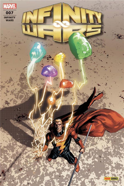 Couverture Infinity wars (fresh start) tome 7
