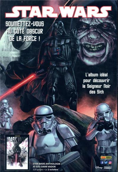 Dos Star wars - fascicule série 3 tome 7 (couverture 1/2)