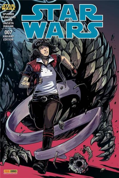 Couverture Star wars - fascicule série 3 tome 7 (couverture 2/2)