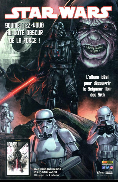 Dos Star wars - fascicule série 3 tome 7 (couverture 2/2)