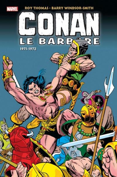 Couverture Conan le barbare - intégrale tome 2 - 1972