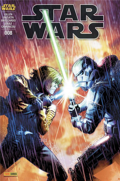 Couverture Star Wars - fascicule série 3 tome 8 (cover 1/2)