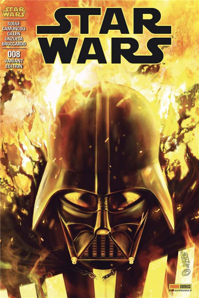 Couverture Star Wars - fascicule série 3 tome 8 (cover 2/2)