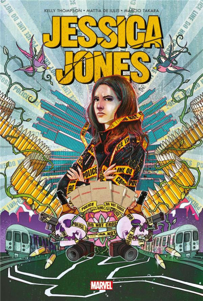 Couverture Jessica Jones - Angle mort