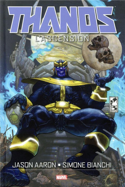 Couverture Thanos - L'ascension de Thanos