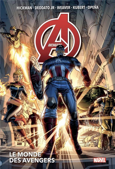 Couverture Avengers (marvel deluxe) tome 1